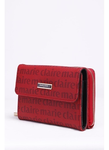 Marie Claire Clutch / El Çantası Bordo